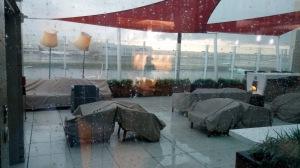 Skyclub Skydeck closed for rain