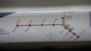 Guatrain System Map