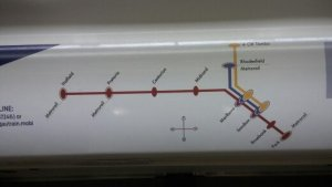 Guatrain System Map
