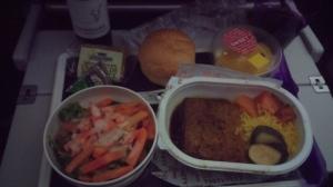 Beef bobotie dinner