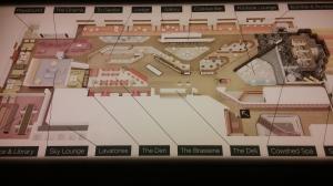 Convenient Clubhouse diagram