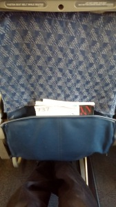 Seat 15C on old AA 737-800