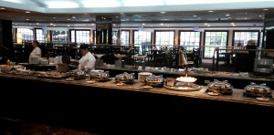 Sheraton breakfast buffet