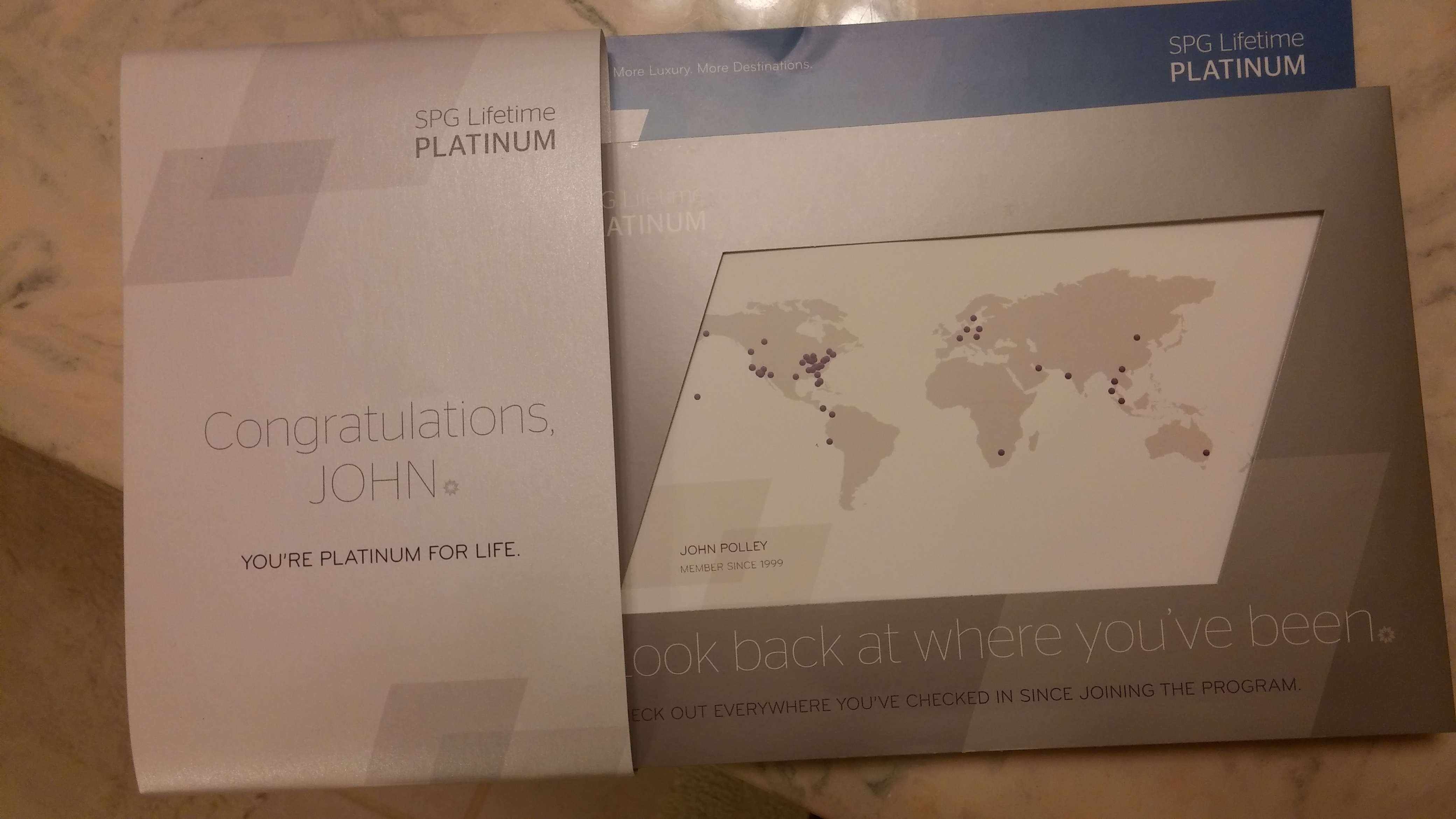 Yeah I Made Lifetime Spg Platinum Status And Why That