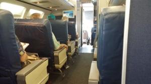 757 first-class seats