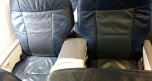 US A321 first-class seat