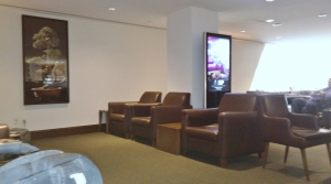 BA first-class lounge JFK