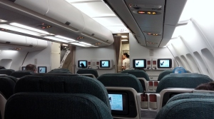 CX A330 business class section