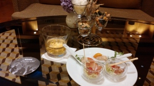 Appetizers in the Living Room