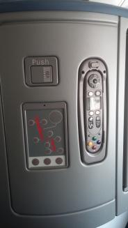 seat and av controls