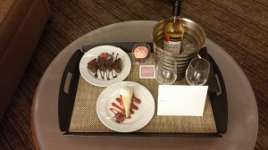 Welcome gift at Westin Cincinnati