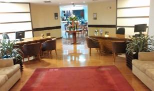 Club lounge reception