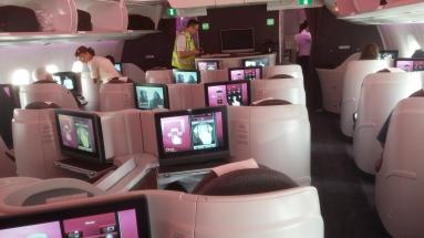 Qatar A350-900 business class