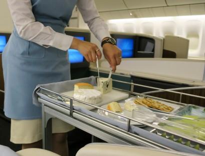 Korean Air first class Atlanta, GA to Seoul/Incheon, Korea