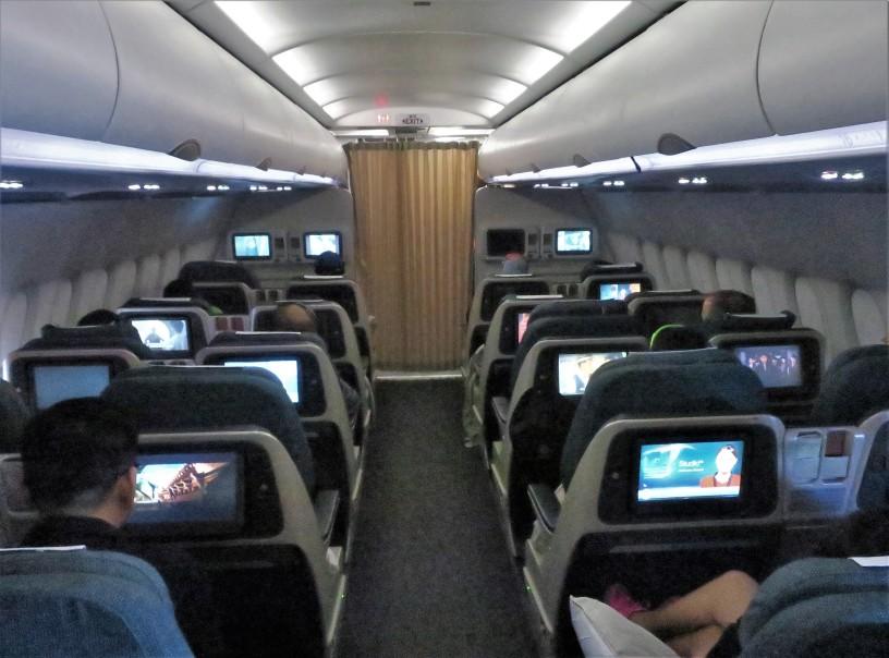 Dragonair A321 Business Class – Hong Kong, SAR China (HKG