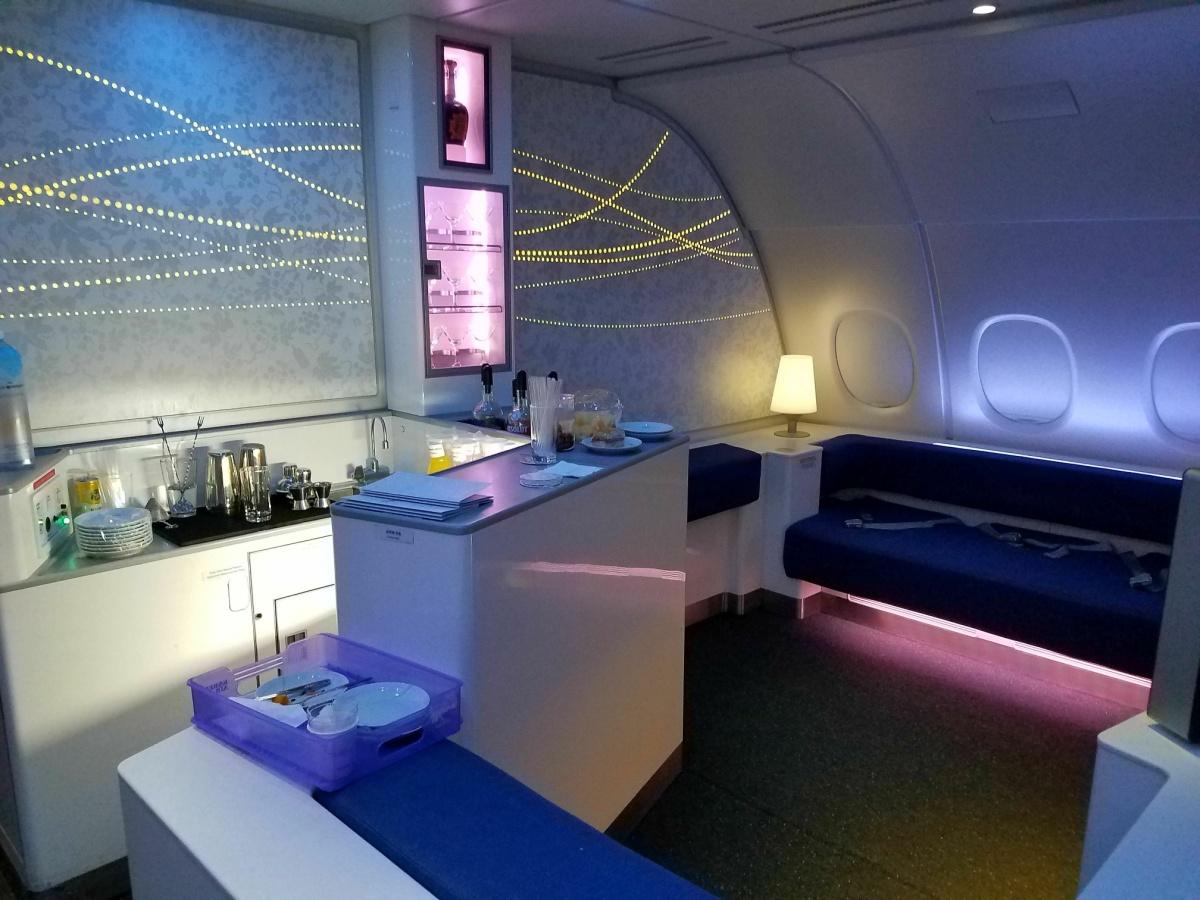 Korean Air A380 Prestige Business Class The Celestial