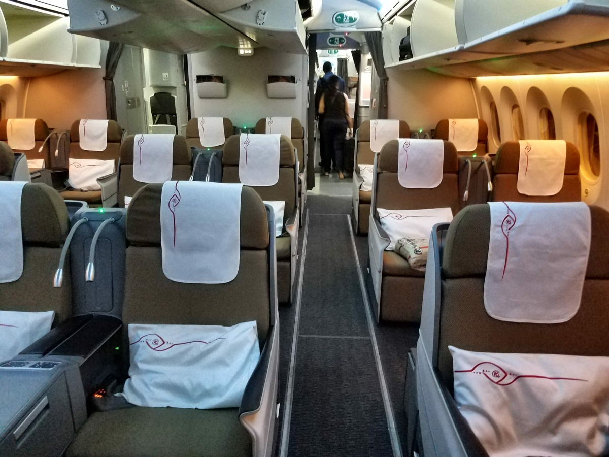 Kenya Airways 787 8 Business Class Hong Kong Sar China