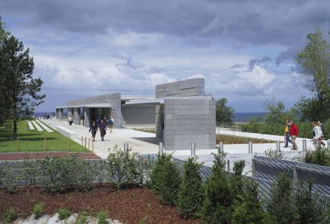 Normandy_Visitor_Center_Outside