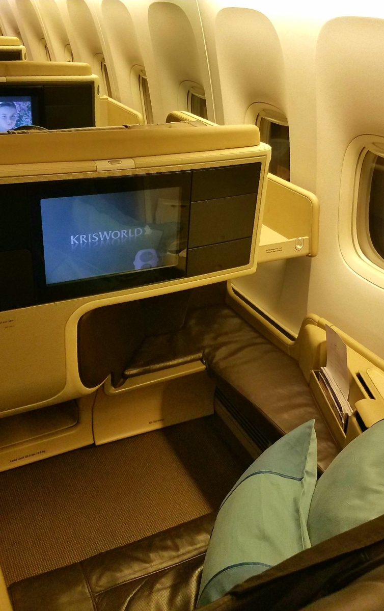 Super Business Class Trip Report Singapore Airlines