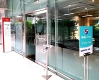 AF/KLM Lounge entrance