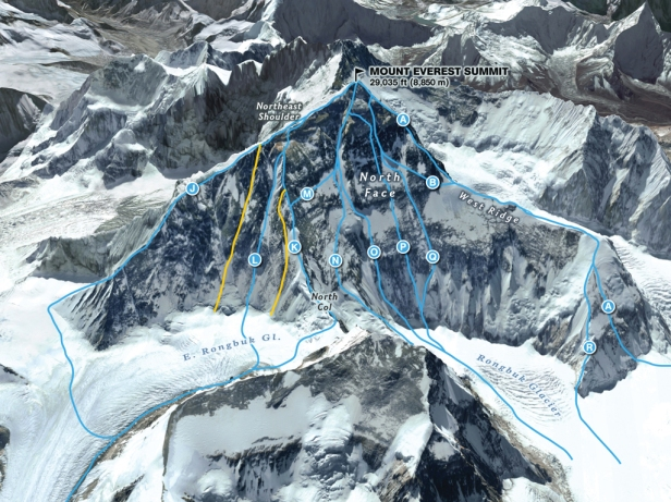 North-Face-Everest-Routes