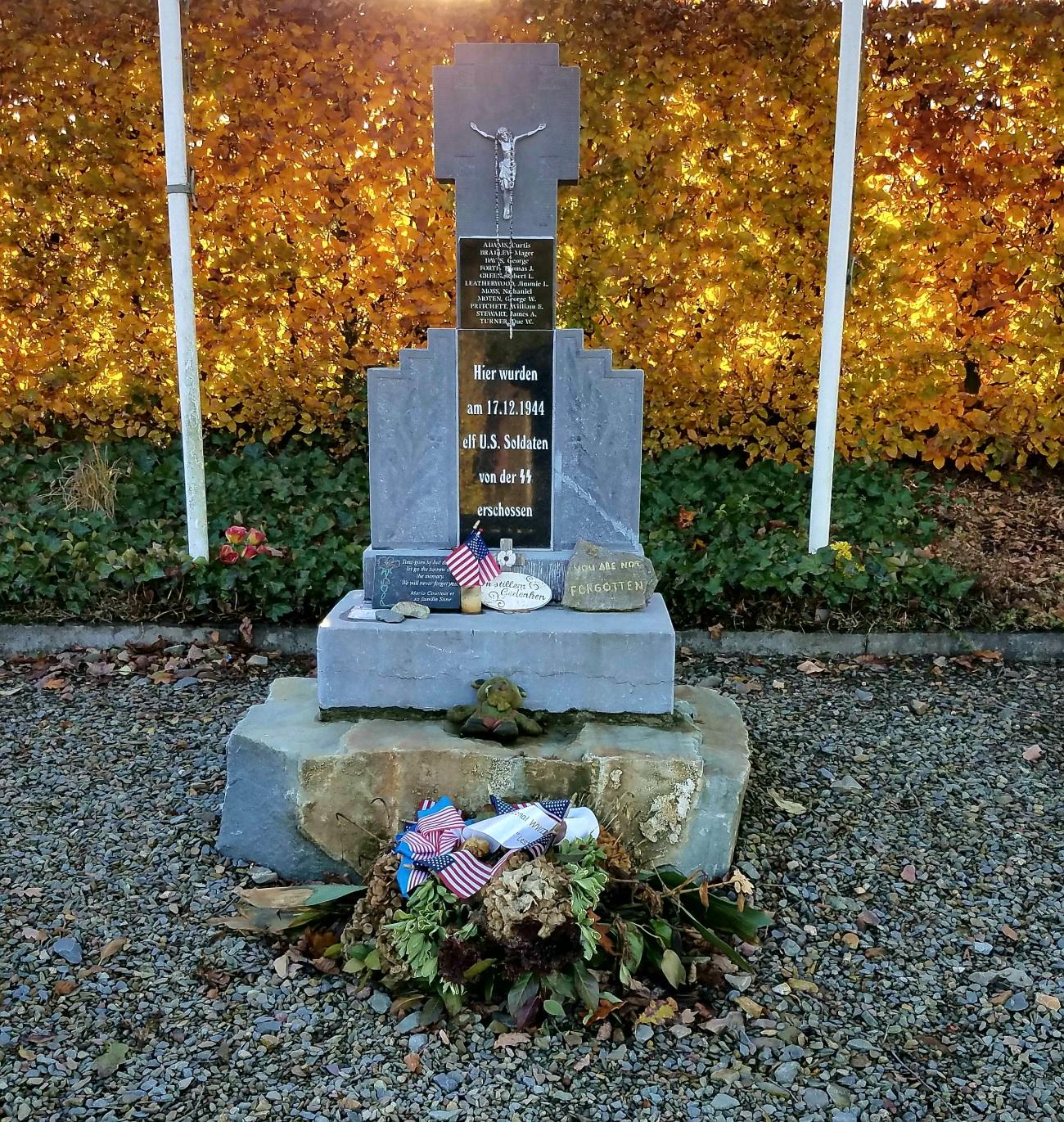 Wereth 11 monument