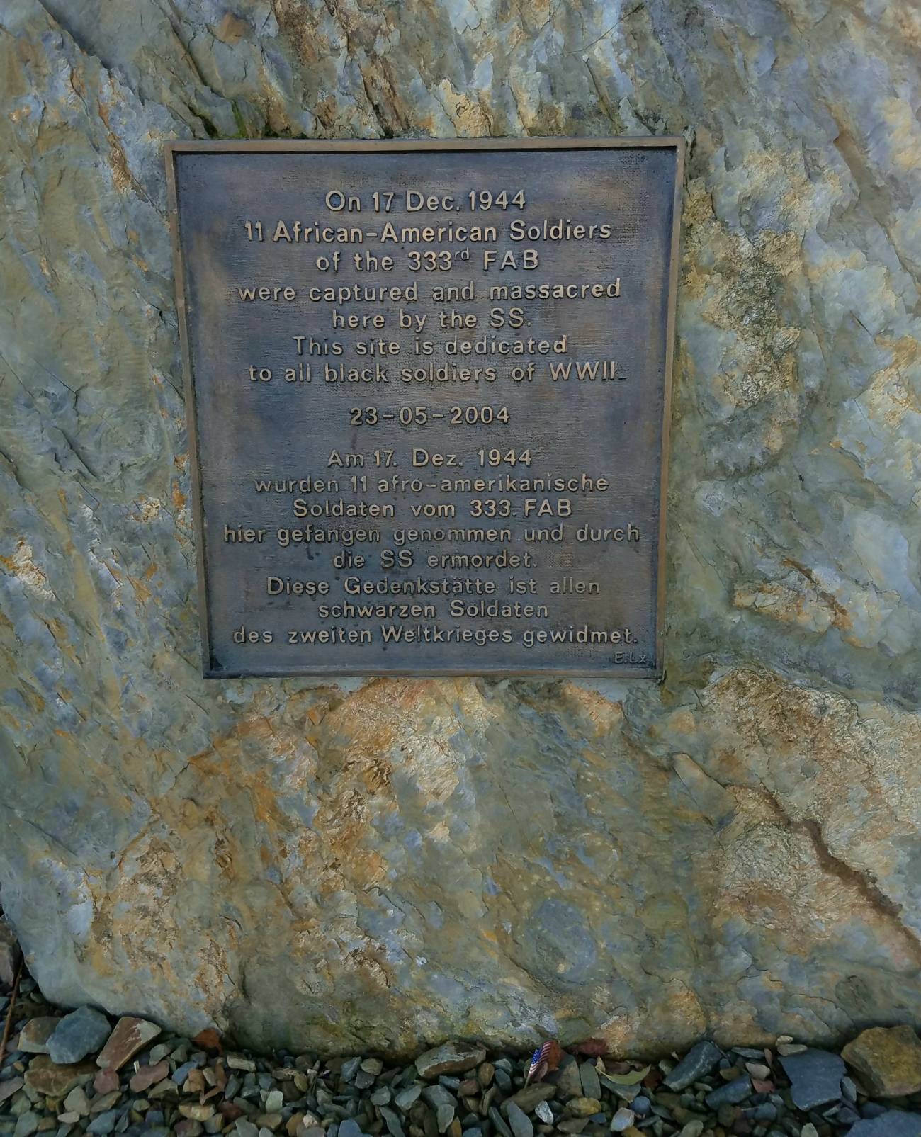 Black soldiers remembered in the Battle of the Bulge tour