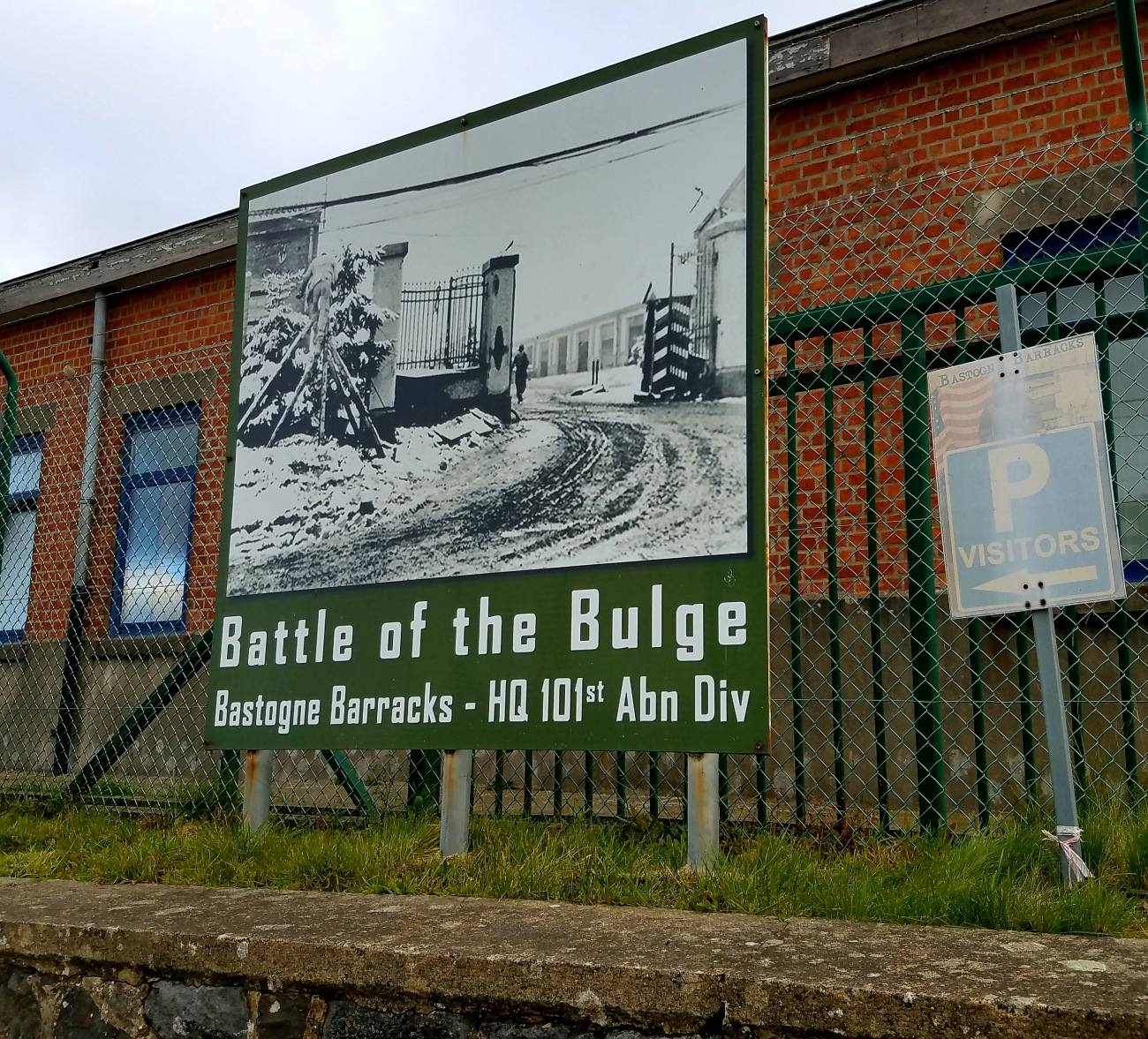 Battle of the Bulge Bastogne Barracks