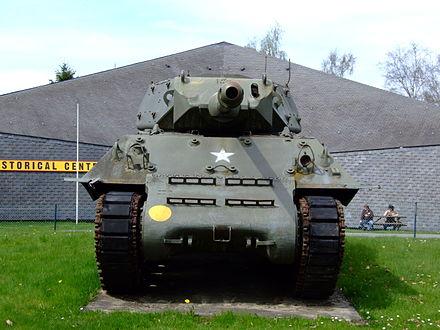 US M10 Wolverine tank