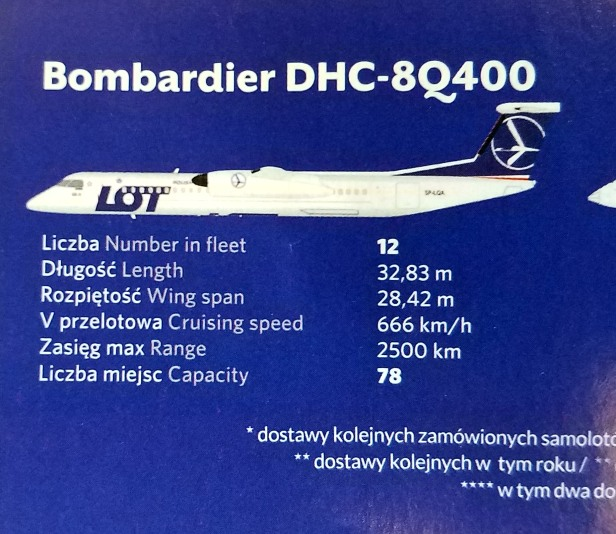 Review in 8 Photos – LOT Polish Airlines Bombardier DHC-8