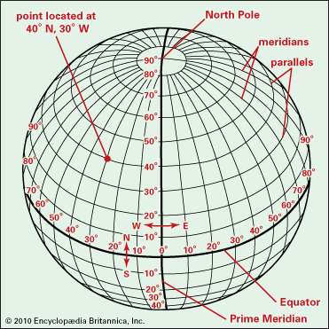 Perspective-globe-grid-parallels-meridians-longitude-latitude