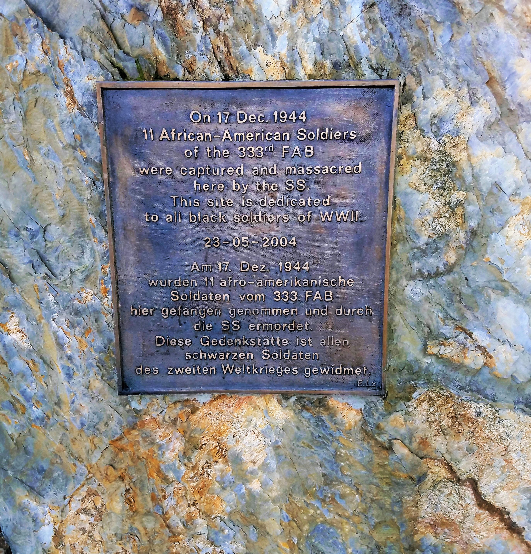 The Wereth Massacre Memorial