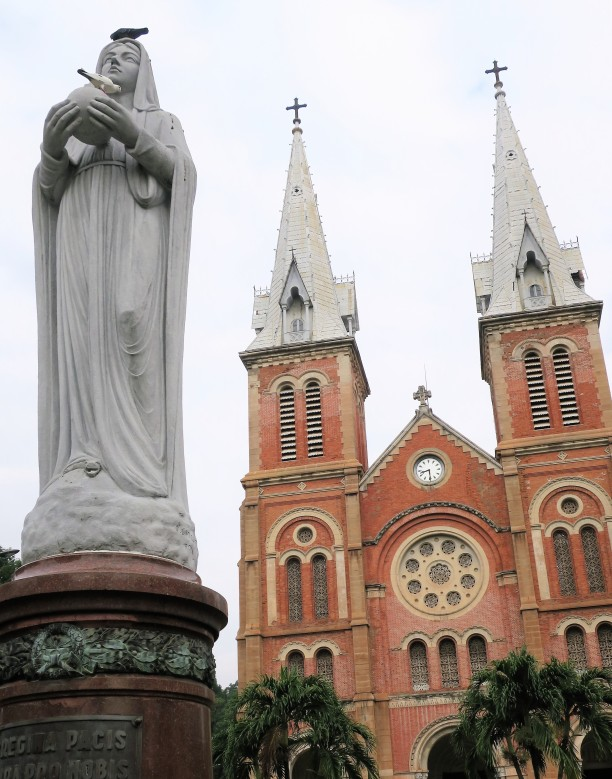 Regina Pacis and Notre-Dame Cathedral Basilica of Saigon