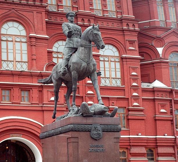 Monument to Marshall Zhukov by Vyacheslav Klykov