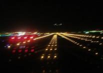 Runway 16 departure Tokyo Narita International Airport Japan