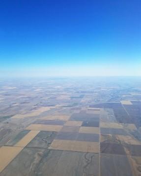 Western Kansas or eastern Colorado.