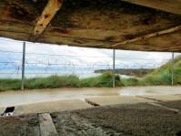German observation post at Pointe du hoc