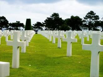 Normandy American Cemetery Coleville-sur-Mer,