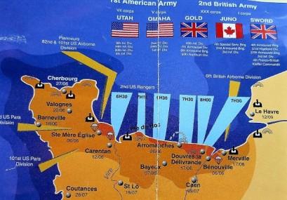 Normandy Invasion beaches
