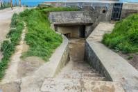 A german bunker at Pointe du Hoc, Normandy