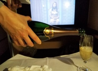 ANA is one of my favorites because I'm a sucker for Krug champagne