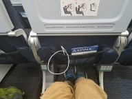 Middle seat exit row