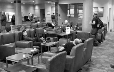 Alaska Airline Lounge LAX